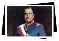 portrait of Augusto-Pinochet