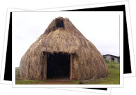 traditional Mapachue home