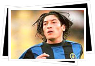 zamorano playing for inter milan